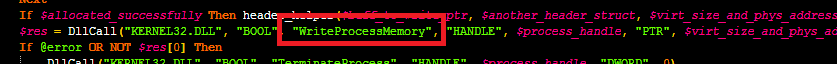 WriteProcessMemory